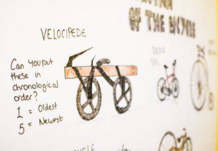 Wheels of Time Exhibition. Photo: Charlotte Levy